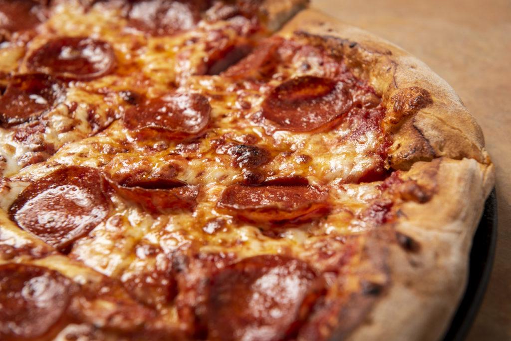 Pepperoni Pizza closeup