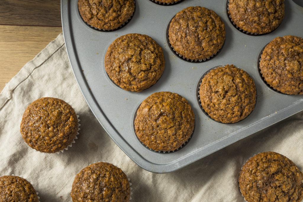 Homemade honey muffins