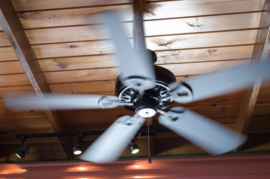 Spinning Ceiling Fan